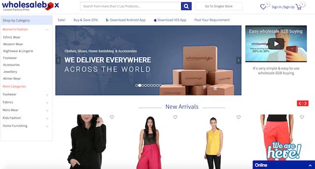 WholesaleBox Website